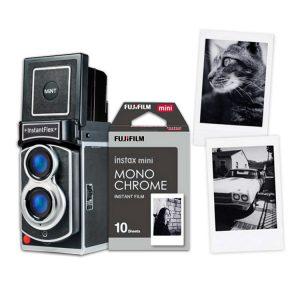 Instax mini monochrome la nuova pellicola instant di Fujifilm
